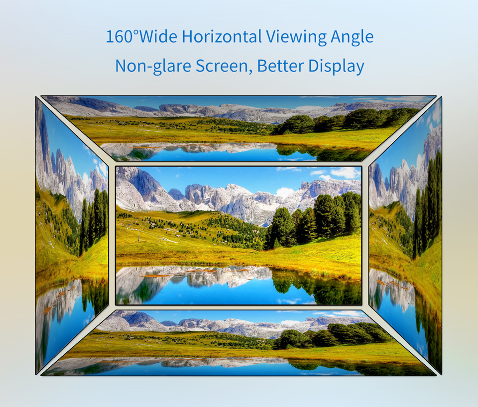 wide viewing angle led display