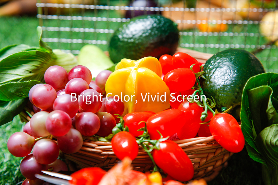 high brightness shelf led display