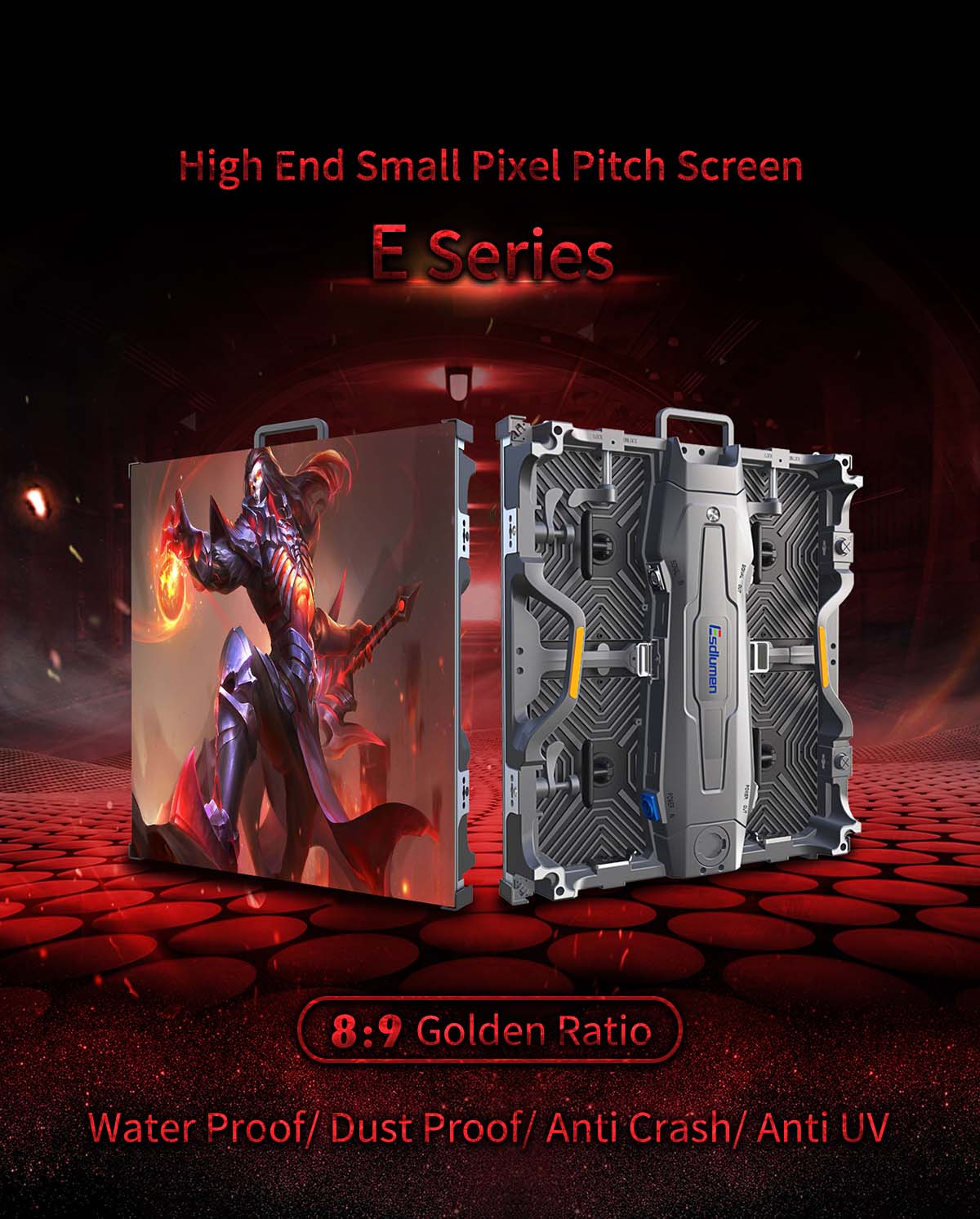 rental indoor led screen