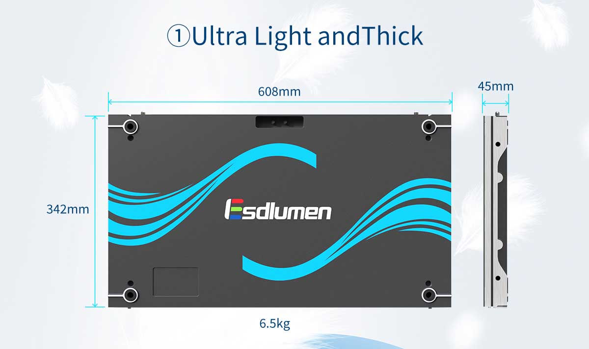 Fine-pitch LED screen