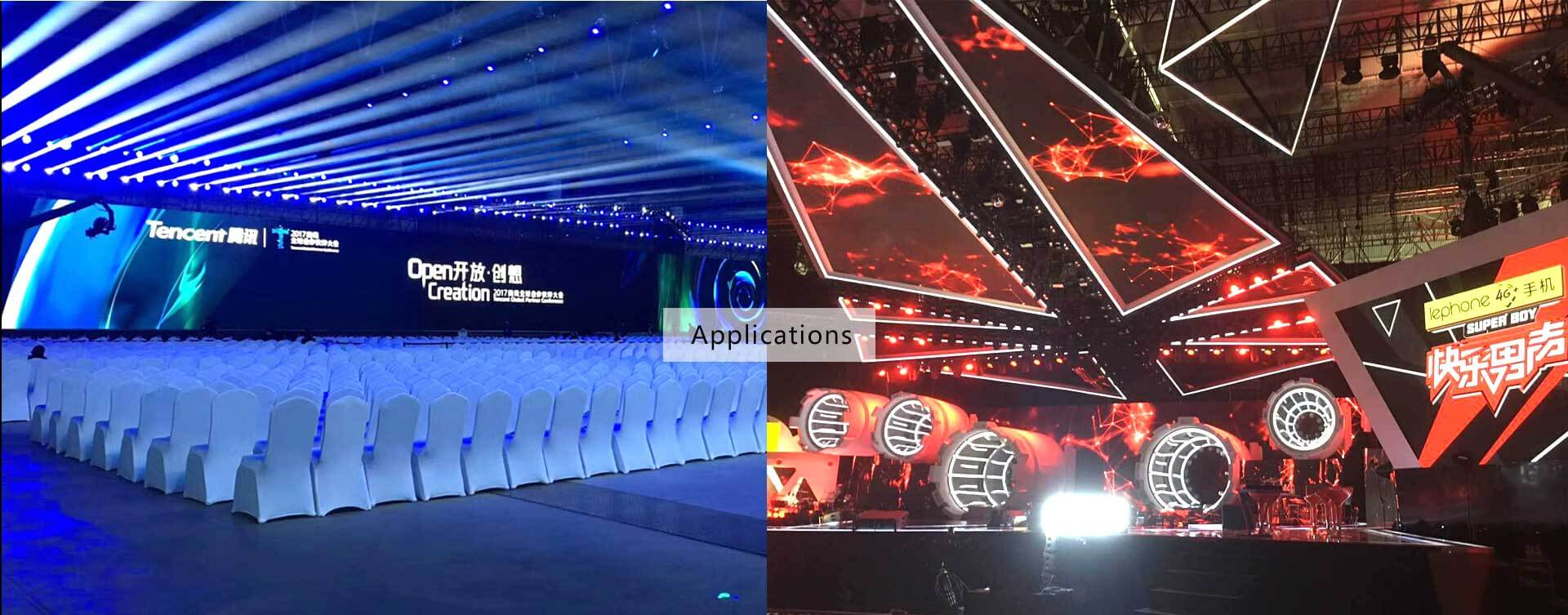 applications of led wall