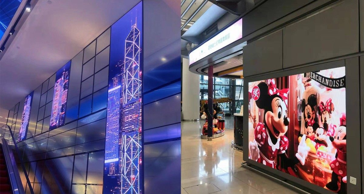 indoor curved led screen