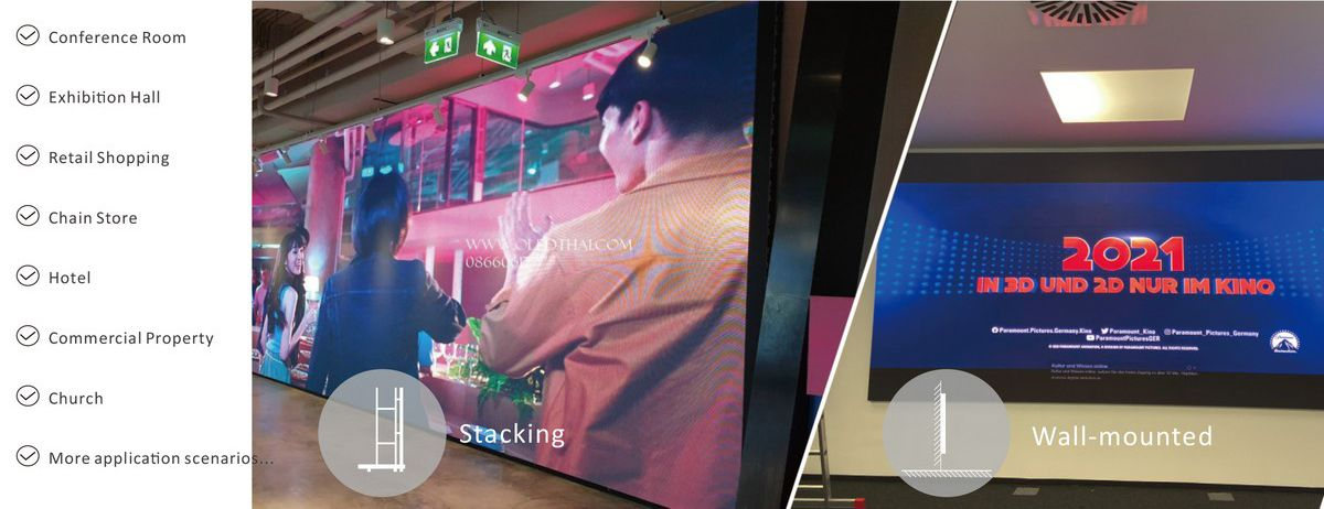 small pitch led screen