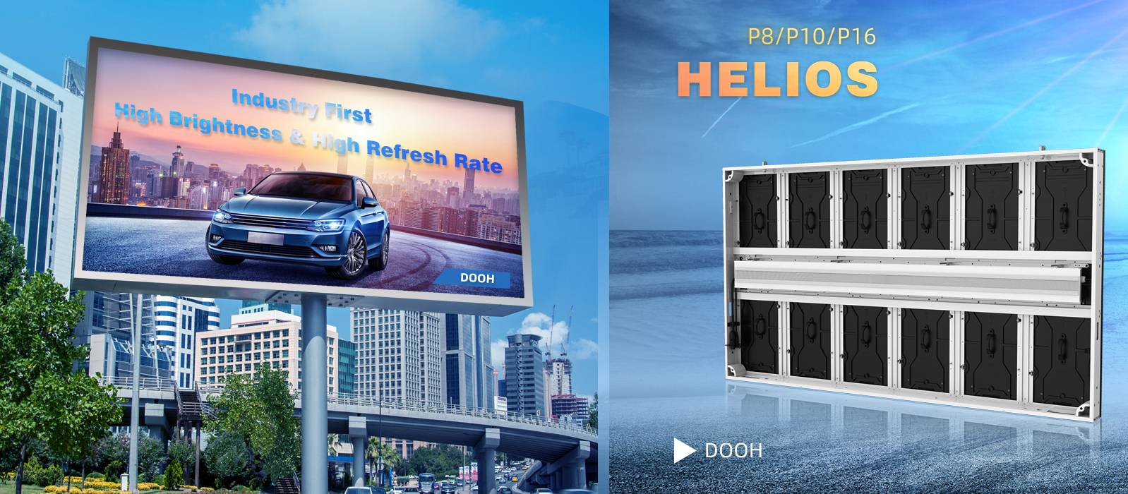 Helios - Outdoor Fixed LED Display