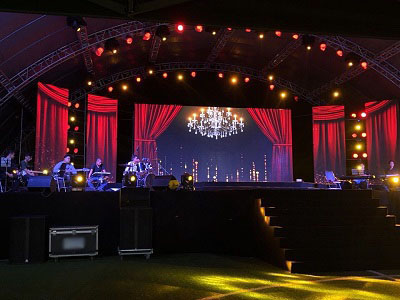 Dazzle III Stage Rental LED Display