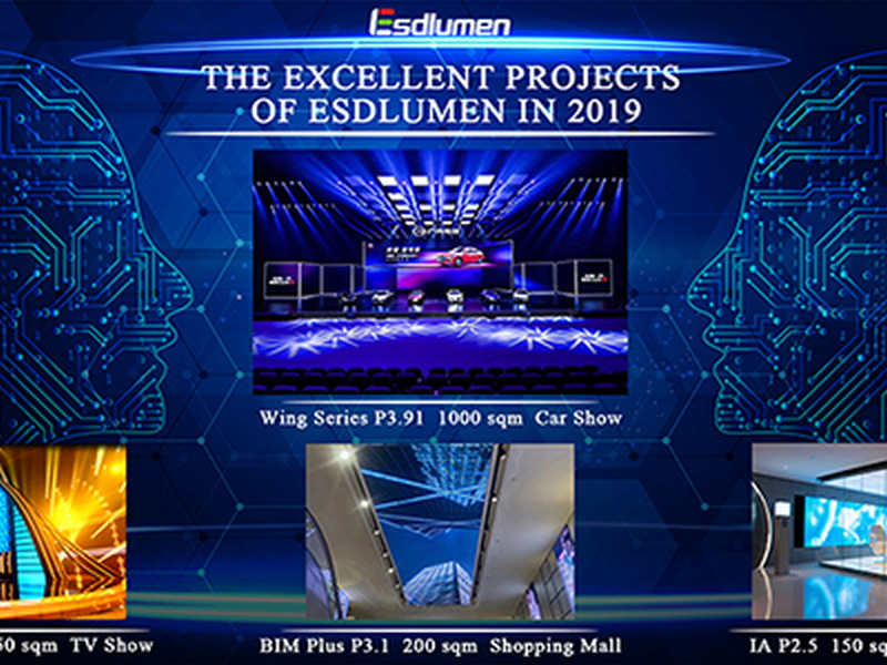 The Excellent Projects of Esdlumen in 2019