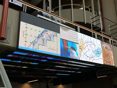 The application of led display in the education field