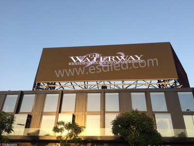 OA P10 for outdoor advertising, Egypt