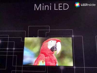 Mini LED backlight display is the opportunity for the panel industry