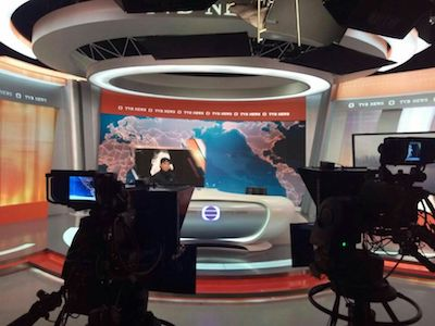 EHP P1.5 for TVB TV news live room, Hongkong