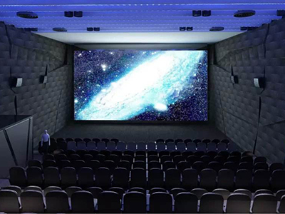 Can LED screen instead of projection in the movie theater?