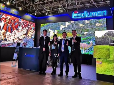 ​Rental King LED Panel | Eastar Returns to Tokyo Entertainment Equipment Exhibition